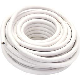 Câble souple 3G1,5mm 5m, blanc