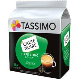 Carte Noire - Capsules de café long délicat