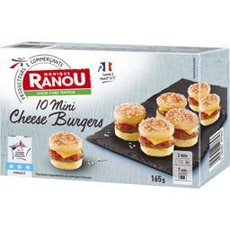 Monique Ranou Mini Cheese Burgers la boite de 165 g