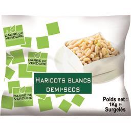 Carré de Verdure Haricots blancs demi-secs le sachet de 1 kg