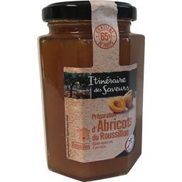 Préparation d'abricots du Roussillon