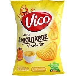 Chips saveur moutarde vinaigrée