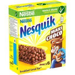 Nestlé Nestlé Céréales Nesquik - Barres de céréales Maxi Choco