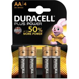 Duracell Plus Power - Piles alcaline 1,5V AA LR6