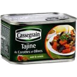 Tajine de carottes et olives miel & cumin