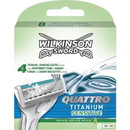 Lames de rasoir Quattro Titanium Précision