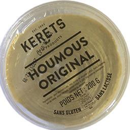 Kerets Premium houmous original La barquette de 200 gr
