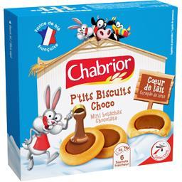 P'tits biscuits choco cœur de lait