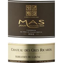 Terrasses du Larzac Jean Claude Mas Château Crès Ricard vin Rouge 2017