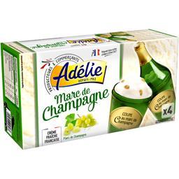 Coupe glacée au Marc de Champagne