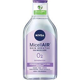 Nivea Eau MicellAir Skin Breathe démaquillant peaux sensib...