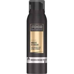 Mousse de douche Gold parfum bois de oud et vanille ...