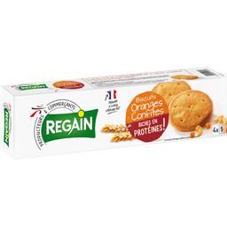 Biscuits hyperprotidiques orange, ligne et minceur