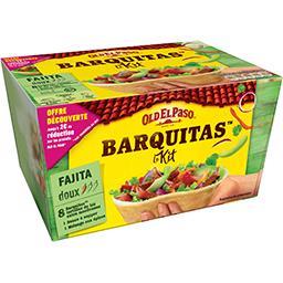 Old El Paso Barquitas kit pour Fajitas Original Barbecue