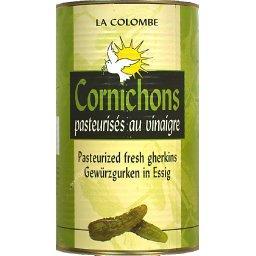 Cornichons pasteurisés au vinaigre