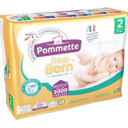 Couches New Born, taille 2 : 3-6 kg
