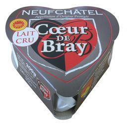 Fromage Cœur de Bray lait cru AOP