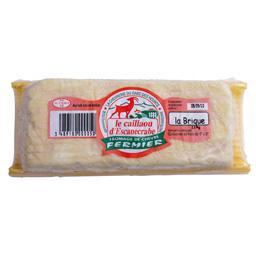 Brique de fromage de chèvre fermier