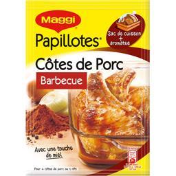 Papillotes - Assaisonnement côtes de porc barbecue