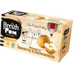 Breizh' Pom Délice de pomme et Reinette d'Armorique