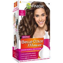 Belle Color Mousse - Couleur permanente châtain clair