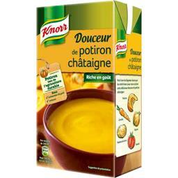 Soupe Douceur de potiron châtaigne