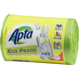 Sac poubelle multi-usages Eco Pratic, 20 l
