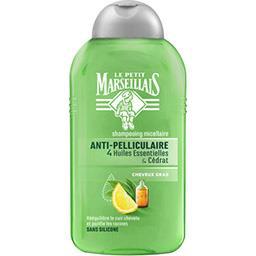 Shampooing anti-pelliculaire 4 huiles essentielles & cédrat