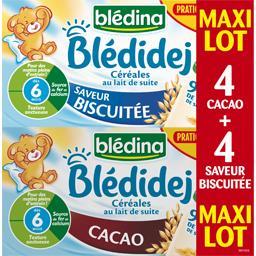 Blédidej - Céréales au lait de suite, biscuité, dès 6 mois