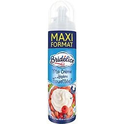 Crème légère fouettée stérilisée UHT sucrée aromatis...