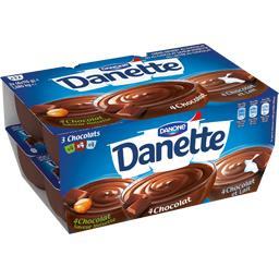 Danette - Crème dessert aux 3 chocolats