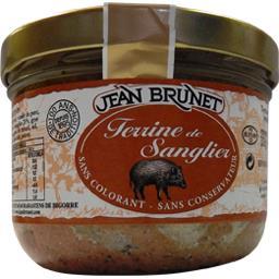 Jean Brunet Terrine de sanglier la terrine de 320 g