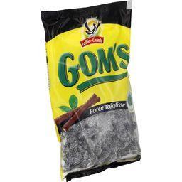 Bonbons Gom's force réglisse