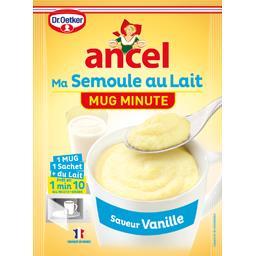 Préparation Mug Minute Ma Semoule au Lait saveur vanille