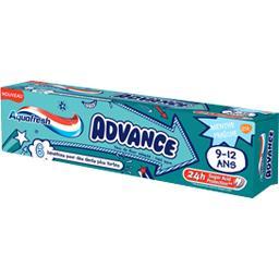 Aquafresh Dentifrice Advance menthe fraîche 9-12 ans