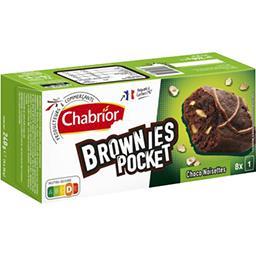 Brownie Pocket choco noisettes
