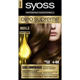 Oleo Supreme - Coloration permanente châtain doré 4-...