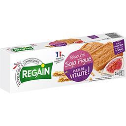 Biscuits diététiques soja-figue, tonus et vitalité