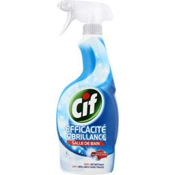 Nettoyant Efficacité & Brillance salle de bain