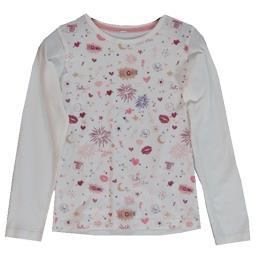 Tee-shirt écru fille taille 6 ans