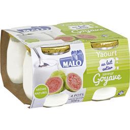 Yaourt au lait entier saveur goyave