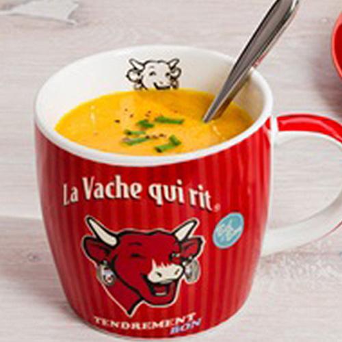 Soupe au potiron La vache qui rit
