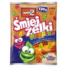 Śmiejżelki Happies Żelki owocowe wzbogacone witaminami