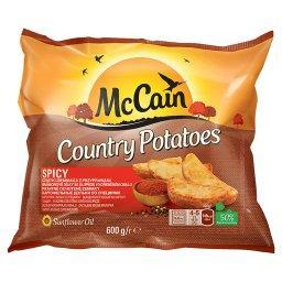 Country Potatoes Spicy Cząstki ziemniaka z przyprawami