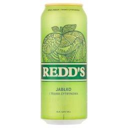 Piwo smak jabłka i trawy cytrynowej