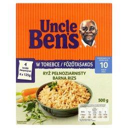 Ryż pełnoziarnisty 500 g (4 torebki)
