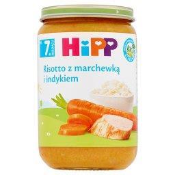 BIO Risotto z marchewką i indykiem po 7. miesiącu