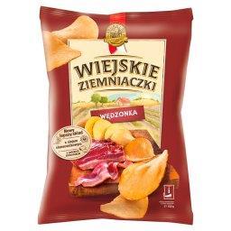 Domowo krojone o smaku wędzonki staropolskiej Chipsy ziemniaczane