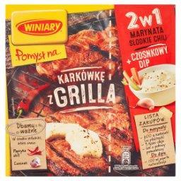 Pomysł na... Karkówkę z grilla 2w1 Marynata słodkie chili i Czosnkowy dip