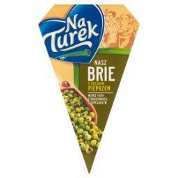 Nasz Brie z zielonym pieprzem Ser